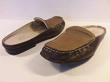 CIRCA - JOAN & DAVID - Women's Brown, Fine Leather Upper & Sole/Mule - Size 8M