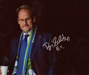 BRIAN SCHMETZER COACH SIGNED 8X10 PHOTO SEATTLE SOUNDERS FC SOCCER