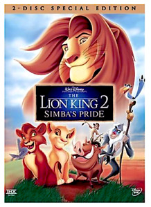 The Lion King 2: Simba's Pride - Special Edition (DVD, 2004, 2-Disc Set) FREE SH