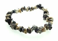 Merlinite Gemstone Chip Crystal Bracelet Reiki/Healing/Spell