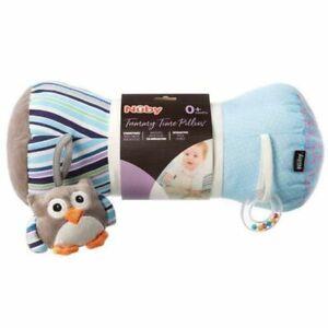 Nuby Tummy Time Pillow 19 x 42 x 20 cm - Soft, Plush Baby Tummy Time Roller