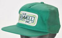 Vintage H.R. Ewell Trucking Co. PA Patch Snapback Trucker Cap Hat Made in USA
