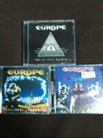 EUROPE - TRE CD - NUOVI SIGILLATI - VEDI DESCRIZIONE