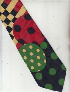 Byblos-Authentic-100% Silk Tie-Made In Italy-77-Men's Tie