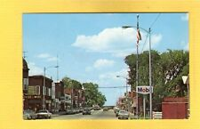 Phillips,Price County,WI Wisconsin Main Street, 1960's cars
