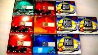 10 Brand New Blank MD Minidiscs Lot, SONY