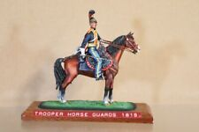 HISTOREX NAPOLEONIC BRITISH MOUNTED HORSE GUARDS TROOPER WATERLOO 1815 nv