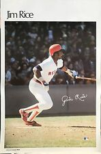 JIM RICE BOSTON RED SOX 1979 SPORTS ILLUSTRATED POSTER