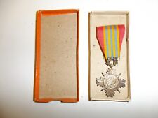 z4 Rvn Vietnam Armed Forces Honor Medal 2nd Class original silver w/Box Wc2