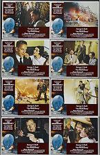 THE HINDENBURG original lobby card set GEORGE C. SCOTT 11x14 movie posters