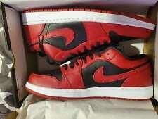 Nike Air Jordan 1 Low Reverse Bred 553558-606 Men Size 10-13 Ready To Ship