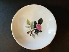 """Wedgwood Bone China Small Bowl Pink Hathaway Rose 4"""""""