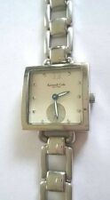 "KENNETH COLE Ladies Quartz Watch ALL STAINLESS STEEL Water Resistant (5 1/2"")"