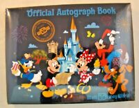 Disney Official Autograph Book Walt Disney World WDW Mickey and Friends Sealed