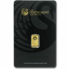 1 Gram Gold Bar Perth Mint