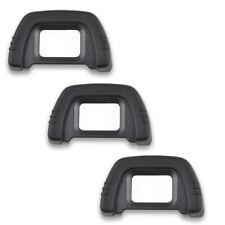 3x Okularmuschel Auge Tasse Okular für Nikon D5000 D5100 D5200 D7000 D7100 D7200