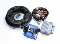 Lambretta 12V Electronic Ignition Kit GP 150,200 Flywheel K2 Stator Plate 4pcs