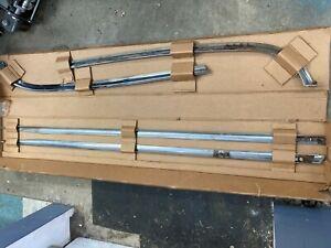 Volvo P1800 Complete Side Exterior Molding Set w/hockey sticks RARE RARE, NICE