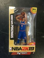 MCFARLANE NBA2K19 New York Knicks  KRISTAPS PORZINGIS Figure BRAND NEW