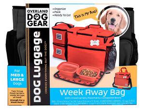 Dog luggage, Dog Travel Bag, Dog Weekender, Dog Holiday Bag. #travelbag