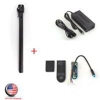 Circuit Board + Folding Pole + Battery Charger For Xiaomi M365 Scooter USA SHIP