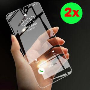 2 x Panzerfolie Samsung Galaxy A10 (2019)  Displayschutz Hart glas klar
