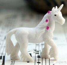 Unicorns - Hand Painted - Set of 4