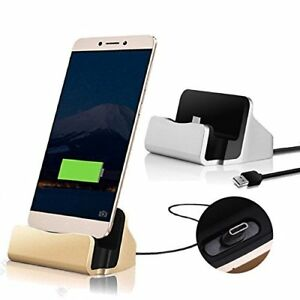 Desktop Dock Charging Charger Data Sync Cradle Stand Station✔HTC U11 Life