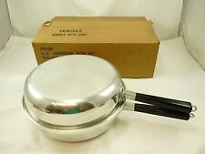 "Nice Vintage REGAL Supreme Regal Ware 11"" Double Frying Pan Aluminum"