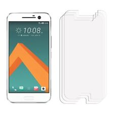 2 x Clear LCD Screen Protector Film Foil Saver For Mobile Phone HTC 10