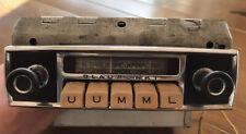 BLAUPUNKT Oldtimer Radio Autoradio + Verstärker 6 / 12 V ? 584304 Speicherfund