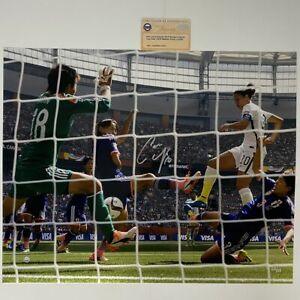 Autographed/Signed CARLI LLOYD USA World Cup 16x20 Photo Steiner Sports COA Auto