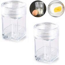2x Würfel-Ei-Maschine Eierformer für Würfel-Eier Maker Partygag für eckige Eier