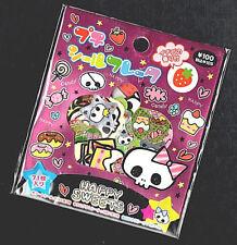 Rare Kamio Japan Happy Sweets Halloween Kawaii Stickers Sack sticker flakes