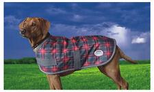 SALE!! Weatherbeeta Landa Dog Rug Coat Crimson Plaid Waterproof