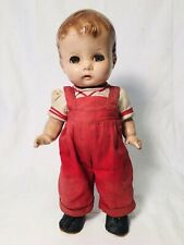 """Vintage 1930s Effanbee 14"""" Composition Doll Tiny Tubber Patsy Boy All Original"""