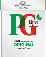 PG Tips 160 Pyramid Tea Bags - Sold Worldwide from England