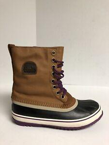 Sorel Women's 1964 Premium CVS, Camel Brown Snow Boots, Size 10.5 M US.