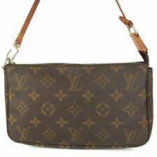 Auth LOUIS VUITTON M51980 Monogram Pochette Accessoires Pouch Hand Bag 10312bkac