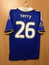 CHELSEA LONDON 2008/2009 FINAL MOSCOW HOME FOOTBALL SHIRT JERSEY JOHN TERRY #26