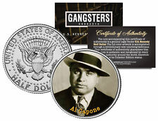 Al Capone Crime Boss Gangster Mob JFK Kennedy Half Dollar US Colorized Coin