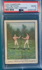 T220 Mecca Boxing Heenan Sayers PSA 2 Perfectly Centered