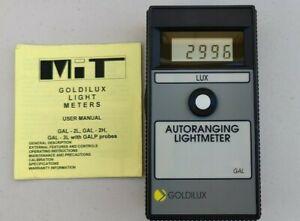 Goldilux Autoranging Light Meter GAL 2L 20000 Lux