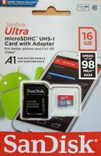 SanDisk Class 10 Ultra 16GB 98MB/s Micro SD SDHC Memory Card UHS-I with adapter