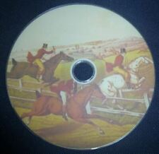 200 Vintage Antique Books Fox Hunting Sport Shooting Foxhounds Hunts on Dvd