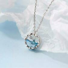 S925 Silver Pendant Necklace Korean Sexy Clavicle Chain Girl Jewelry P
