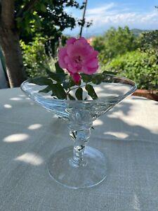 Set 6 coppe VENERE per gelato di vetro trasparente