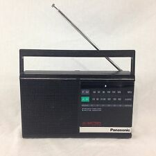 Panasonic RF-542 AM FM Radio Built In AC Transformer Handle Antenna