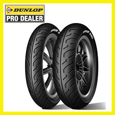 Gomme SH 125 150 Dunlop D451 120 80 16 100 80 16 Scooter  Pneumatici COPPIA