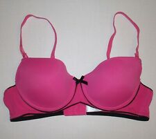 PLAYBOY INTIMATES PUSH UP BRA SIZE 34B PINK BLACK
